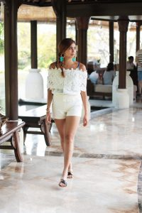 tia_lacson_white_feather_earrings_off_shoulder_top