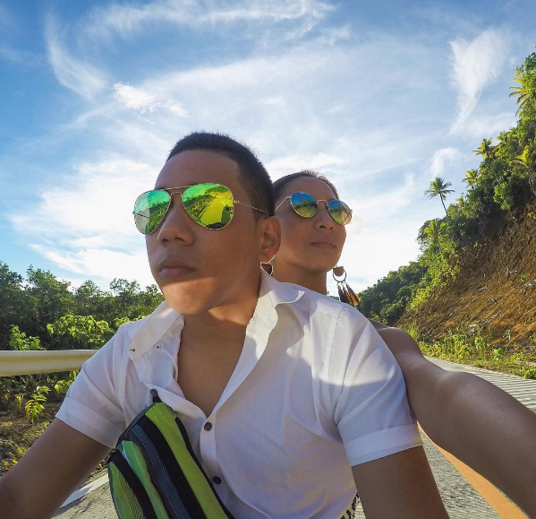 Tia Lacson Rent a bike in Siargao