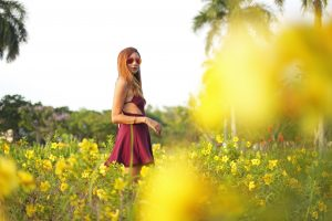 tialacson_sxy_marsala_dress_flowers_yellow