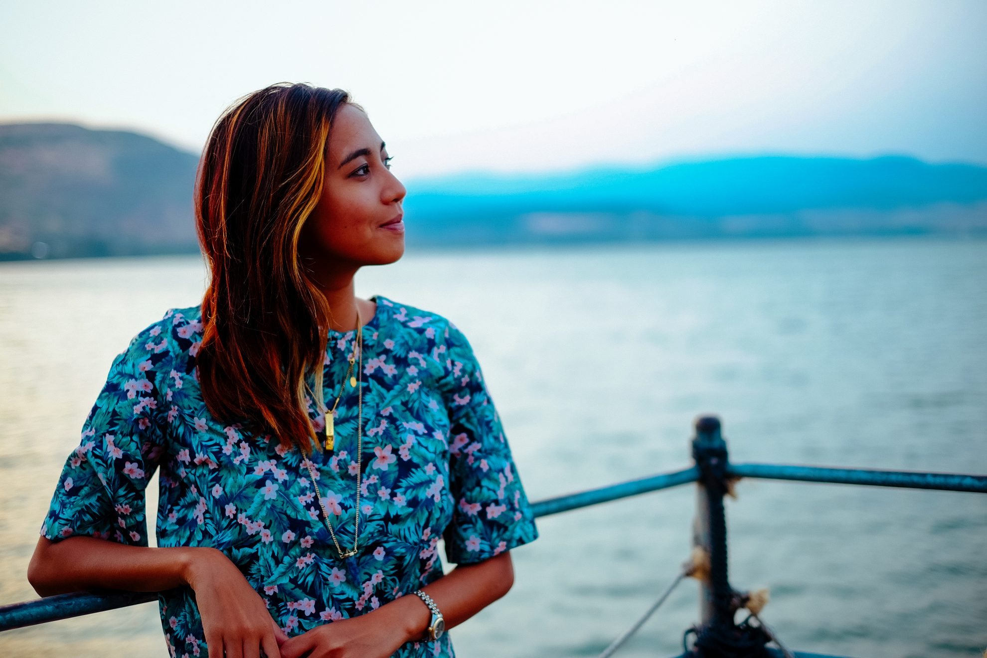 tia lacson in galilee wearing zalora