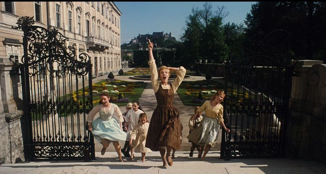 Europe Virtual Tour: Sound of Music cast at Mirabell Palace and Gardens