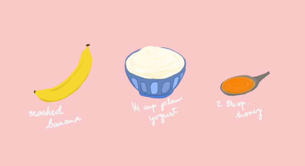 DIY Face Masks: Banana, Yogurt, Honey
